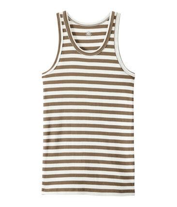 Camiseta de mujer en canalé original de rayas