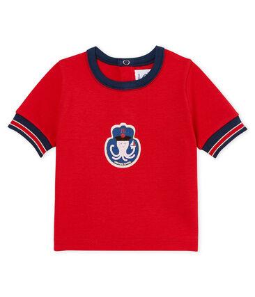 Camiseta manga corta con motivos para bebé niño