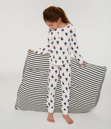 Pijama de muletón para niña