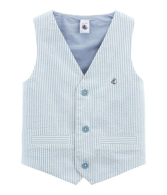 Chaleco azul Fontaine / blanco Marshmallow