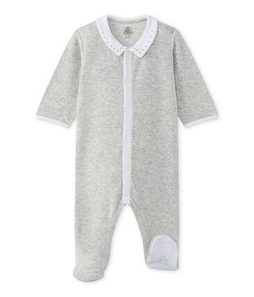 Pijama bebé mixto en terciopelo