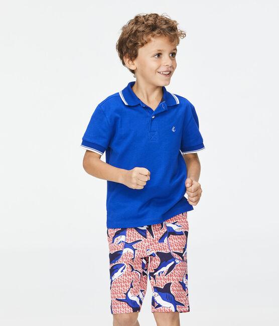 Polo de niño azul Surf