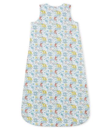Saco reversible de algodón para bebé de niño