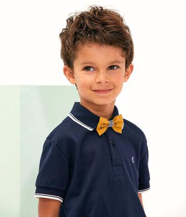 Bermudas de niño amarillo Topaze / blanco Feta