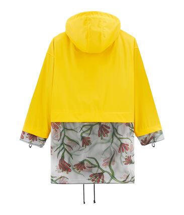 Parka amarillo Shine / blanco Multico
