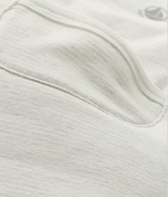 Saco con mangas para bebé beige Montelimar / blanco Lait
