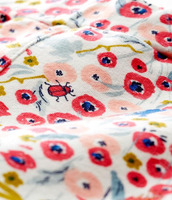 Shorts estampados para bebé niña blanco Marshmallow / blanco Multico