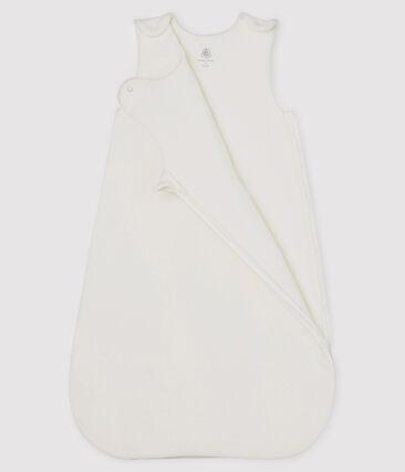 Saco de terciopelo para bebé blanco Marshmallow