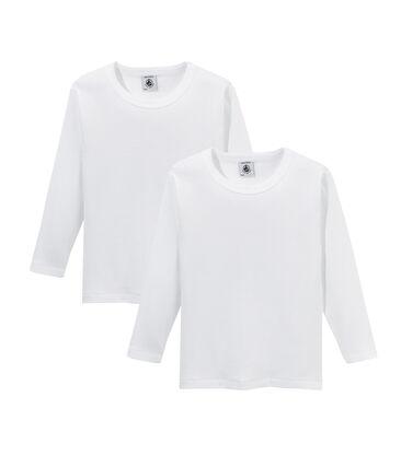 Par de camisetas manga larga para chico