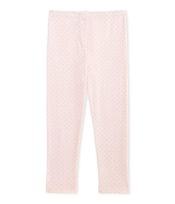 Legging de lana y algodón para niña rosa Vienne / rosa Gretel