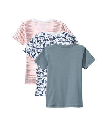 Lote de 3 camisetas de manga corta para niño