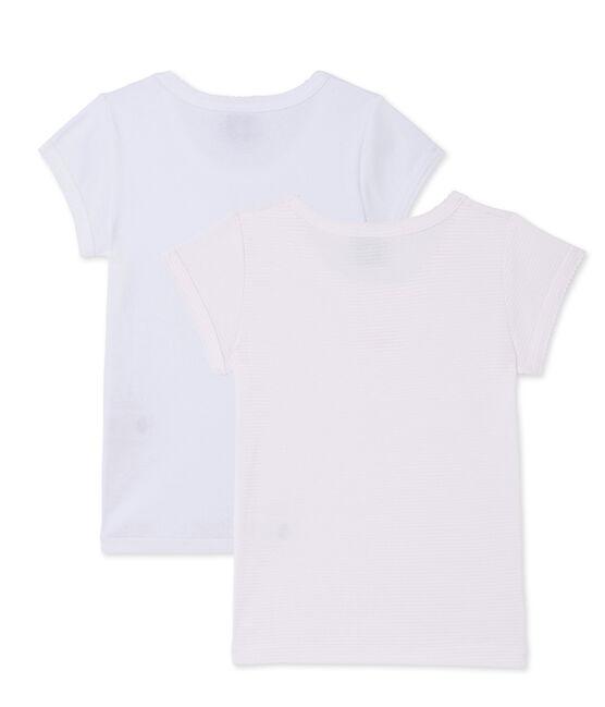 Lote de 2 camisetas para niña lote .