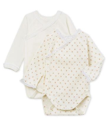 Par de bodis de nacimiento para bebé niña