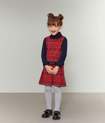 Vestido sin mangas para niña rojo Terkuit / blanco Multico