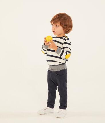 Pantalón de tela lisa para bebé niño