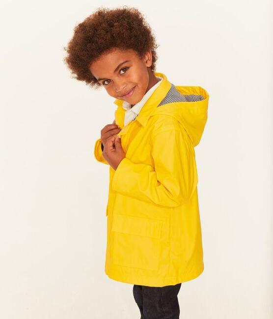Impermeable para niño y niña amarillo Jaune