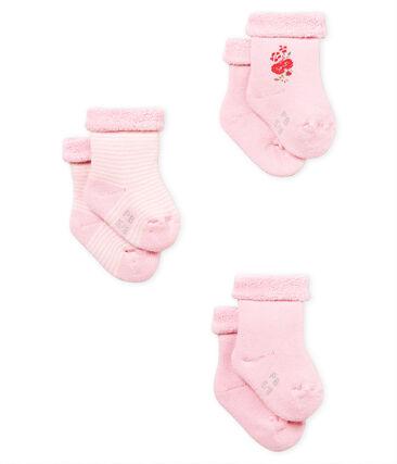 Lote de 3 pares de calcetines para bebé unisex lote .