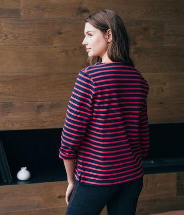 Camiseta marinera de mujer