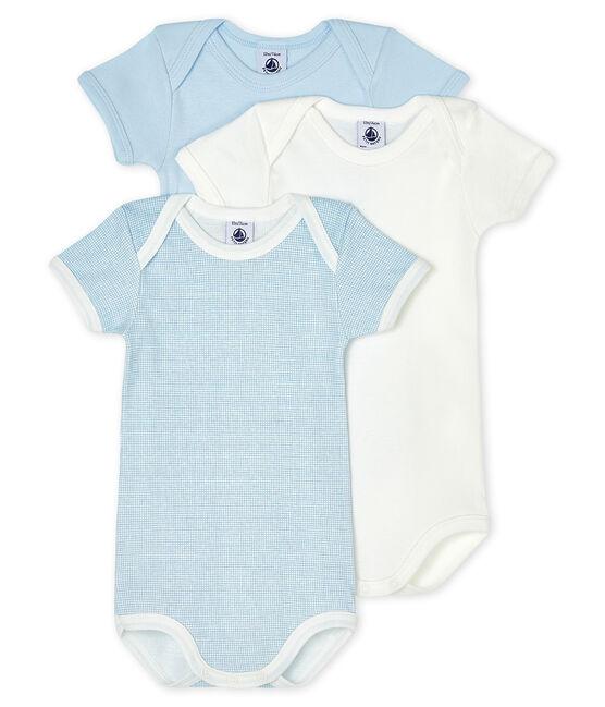 Tres bodis de manga corta para bebé lote .