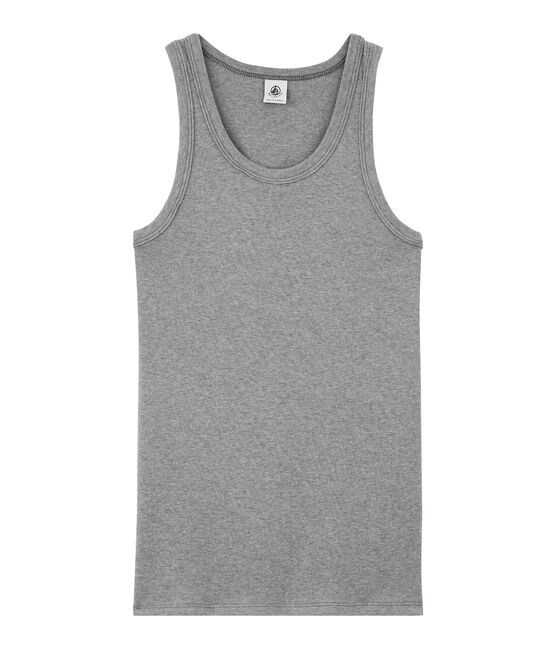 Camiseta de tirantes icónica para mujer gris Subway