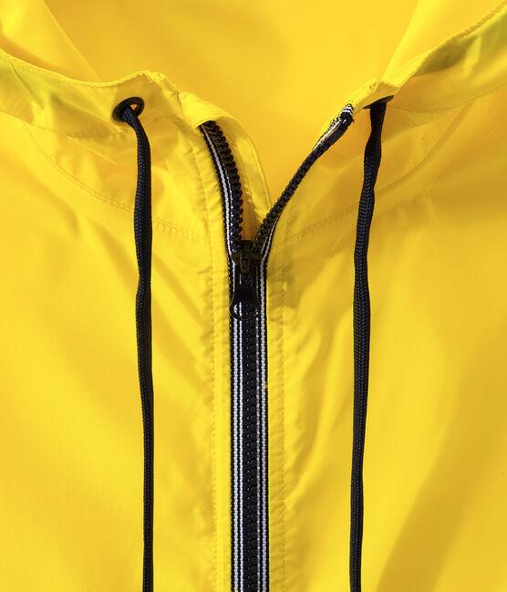 Cortavientos corto unisex amarillo Jaune
