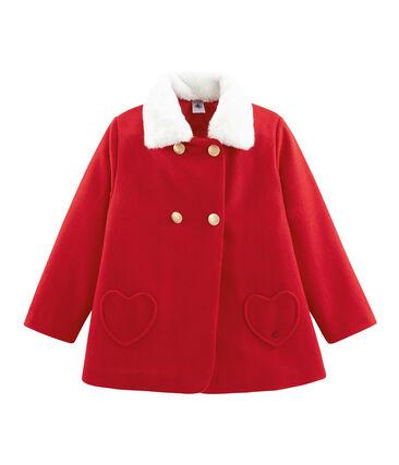 Abrigo de niña rojo Froufrou