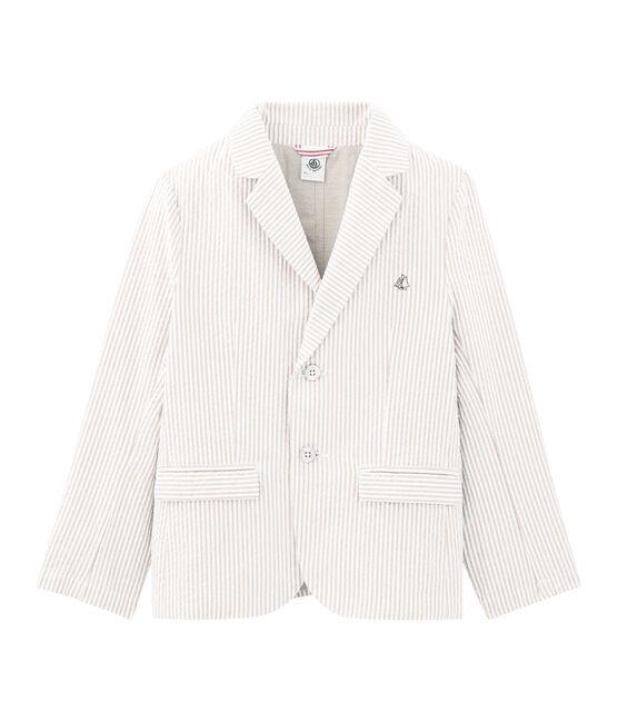 Chaqueta de niño beige Beige / blanco Marshmallow