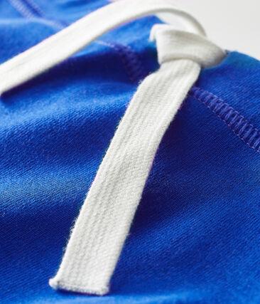 Pantalón corto liso para bebé unisex azul Surf