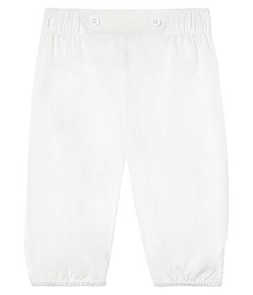 Pantalón de vestir de popelina liso para bebé niño