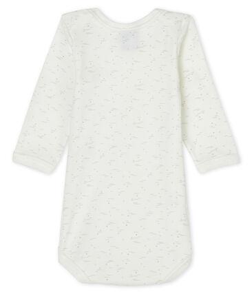 Bodi de manga larga para bebé blanco Marshmallow / blanco Multico