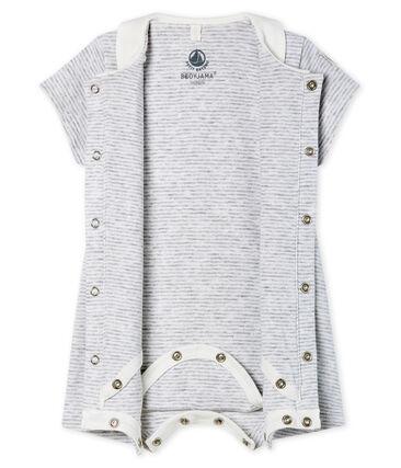 Bodyjama corto de punto para bebé