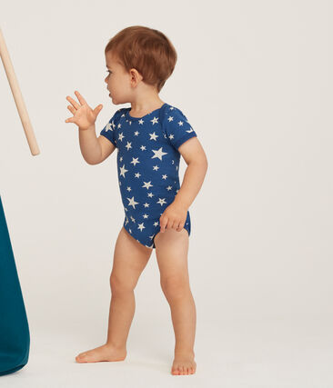 Lote de 5 bodis manga corta para bebé niño