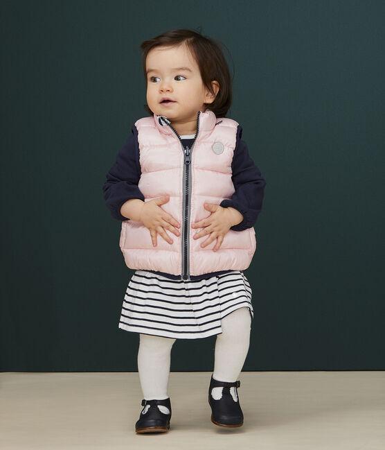 Plumón reversible para bebé rosa Minois