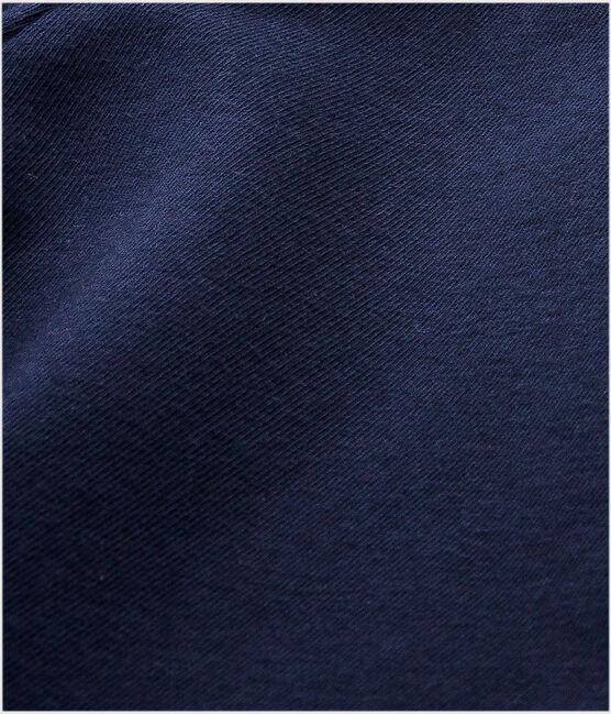 Leggings de punto de licra de niña azul Smoking