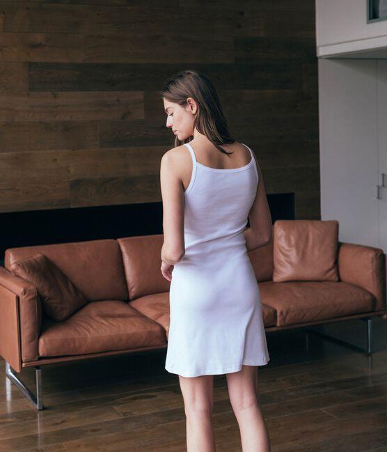 Vestido para mujer blanco Ecume