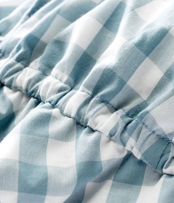 Sombrero para bebé unisex azul Fontaine / blanco Marshmallow