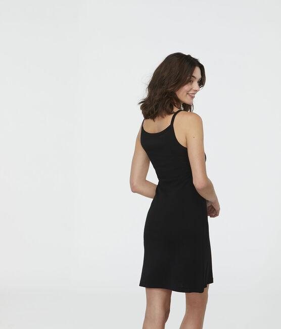 Vestido de tirantes para mujer negro Noir