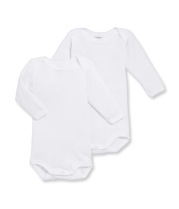 Dúo de bodis de manga larga para bebé