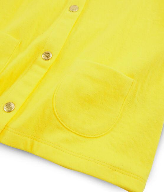 Cárdigan de niña amarillo Eblouis