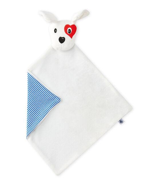 Doudou perrito blanco Ecume / blanco Multico