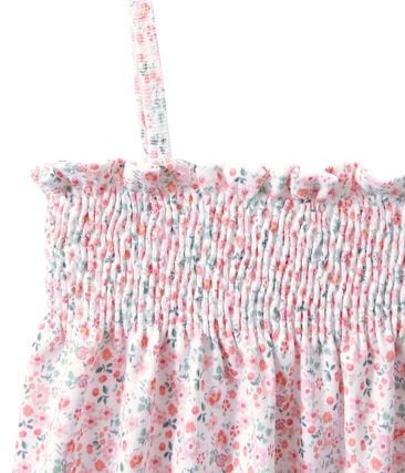 Camisón bordado estampado para niña