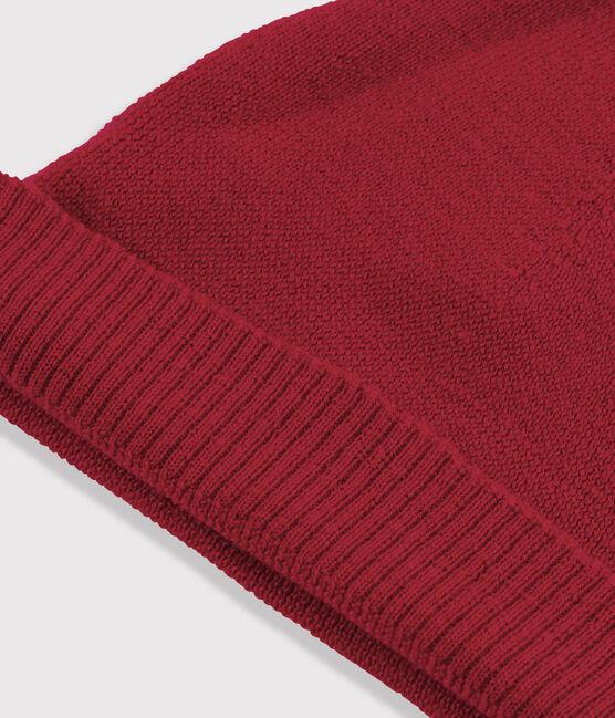 Gorro de lana de mujer rojo Terkuit
