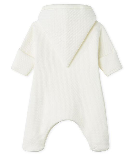 Mono largo para bebé de túbico acolchado blanco Marshmallow