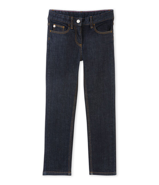 Jean slim stretch enfant fille azul Jean