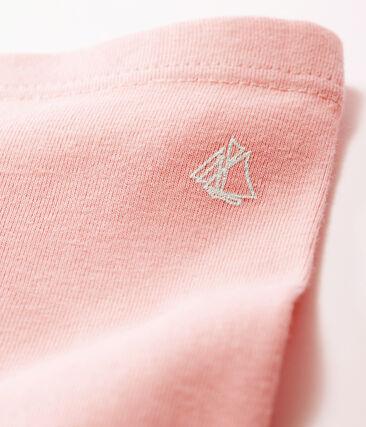 Leggings para bebé niña rosa Charme