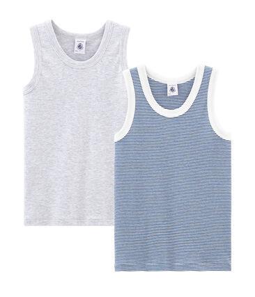 738538fbc Par de camisetas de tirantes para niño