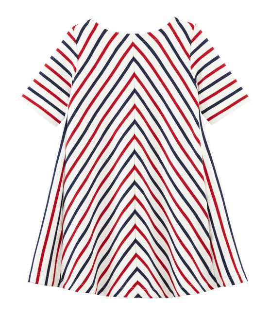 Vestido infantil para niña blanco Marshmallow / blanco Multico