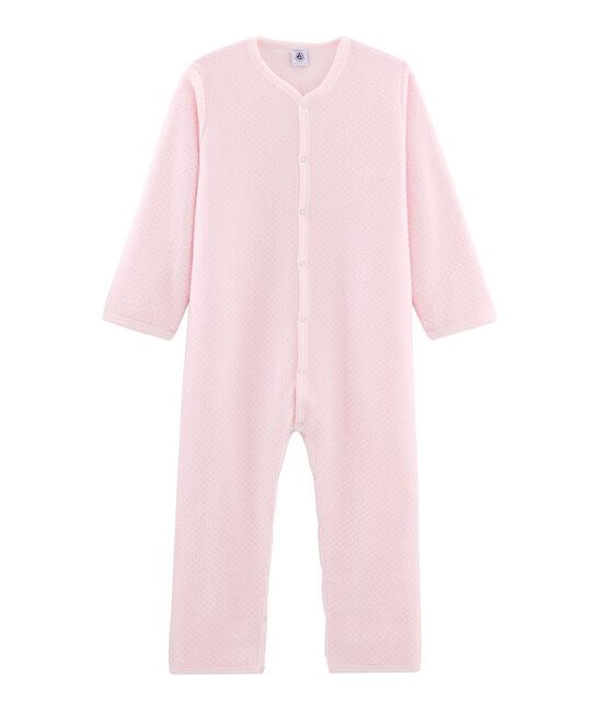 Buzo de polar para niña pequeña rosa Vienne / gris Mistigri