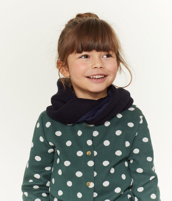 Cuello infantil mixto azul Smoking