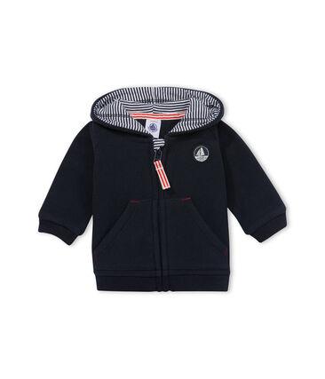 Suéter bebé niño en polar forrado mil rayas